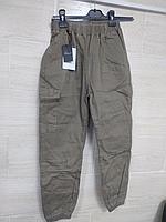 Джоггеры с накладным карманом Stba326, 44-46хаки
