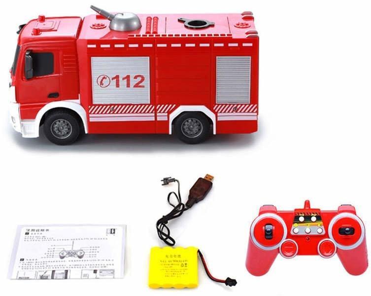 Double E Радиоуправляемая Пожарная Машина