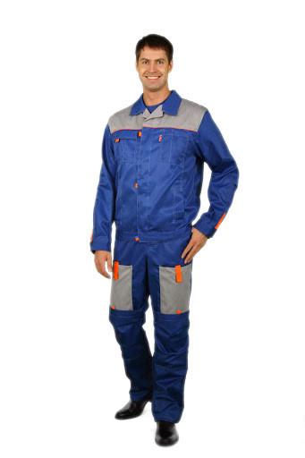 Костюм  Фаворит синий: куртка, брюки