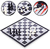 Шахматы 36x36 Magnetcspel 3in1 9918