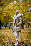 Женская парка с натуральным мехом, фото 2