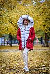 Меховая зимняя парка с капюшоном, фото 5