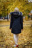 Зимняя женская парка с мехом натурального песца, фото 4