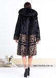 Шуба - рысь из натурального меха, фото 2