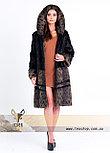 Шуба - рысь из натурального меха, фото 3