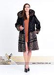 Шуба - рысь из натурального меха, фото 4