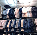 Женская шуба из пепельного песца | купить онлайн в ЛЕАШОП, фото 2