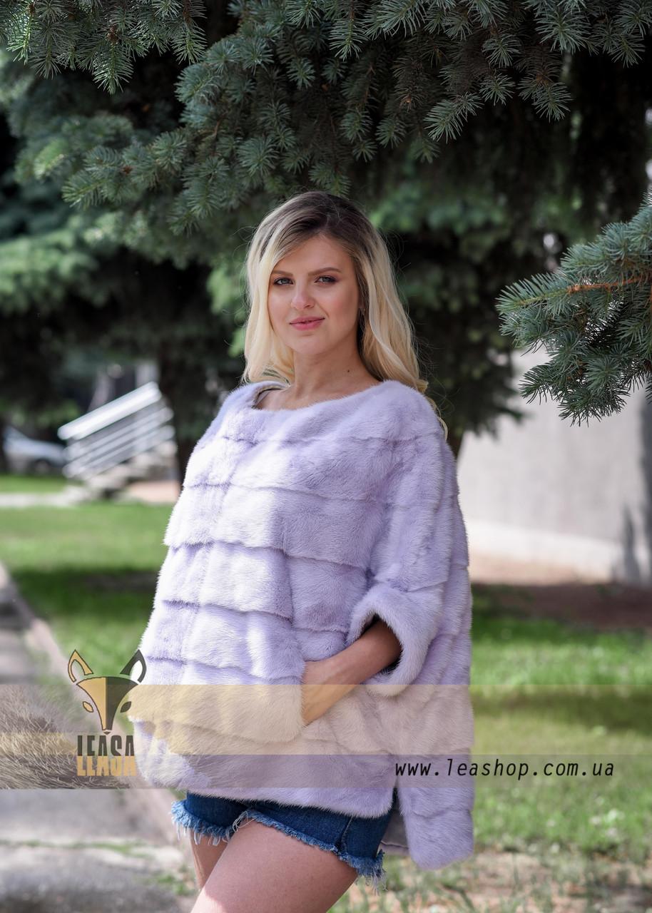 Норковый свитер из натурального меха - фото 2