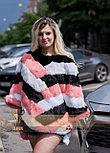 Яркий меховой свитер, стильная женская меховая одежда LEAshop, фото 3