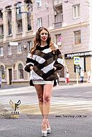 Женский полушубок, меховой свитер для модниц