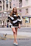 Женский полушубок, меховой свитер для модниц, фото 2