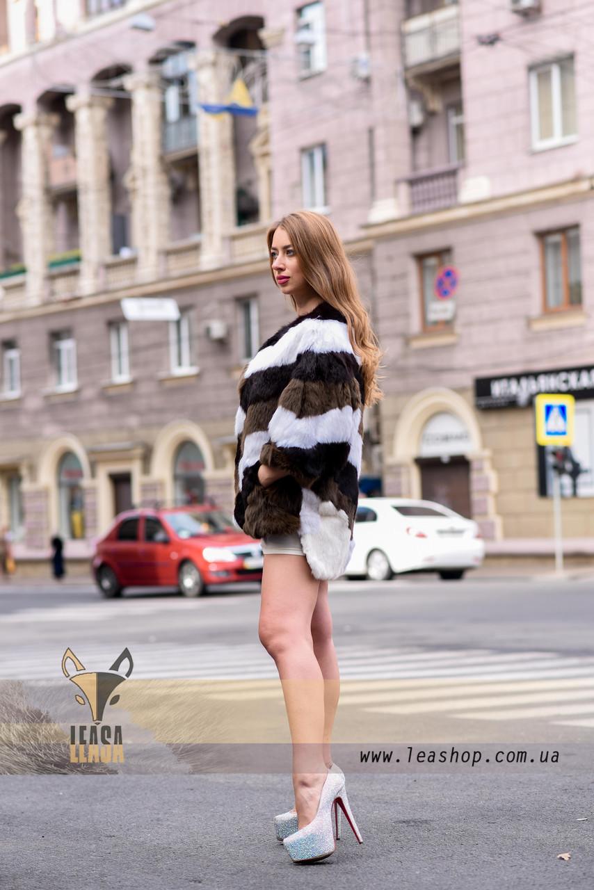 Женский полушубок, меховой свитер для модниц - фото 3