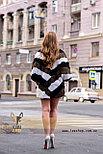 Женский полушубок, меховой свитер для модниц, фото 4