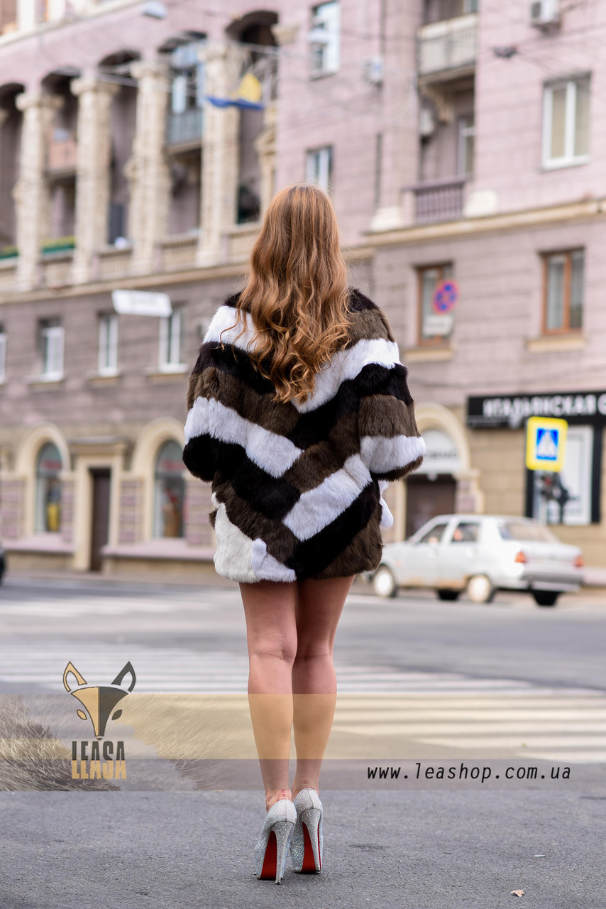 Женский полушубок, меховой свитер для модниц - фото 4