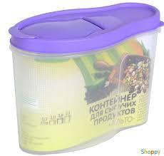 """Контейнер для сыпучих продуктов """"Альто"""" 2,1 л"""