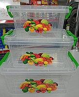Контейнер для продуктов Exclusive plast (3 предмета)