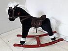 Музыкальная лошадка-качалка для детей. Отличный подарок. Kaspi RED. Рассрочка., фото 2