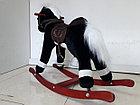 Музыкальная лошадка-качалка для детей. Отличный подарок. Kaspi RED. Рассрочка., фото 4