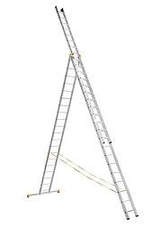 Алюминиевая лестница профессиональная 3х20 Алюмет (арт. 9320)