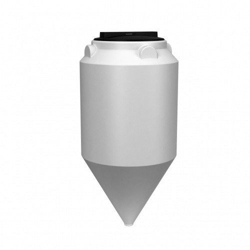 Емкость ФМ 120 с крышкой с дыхательным клапаном белый