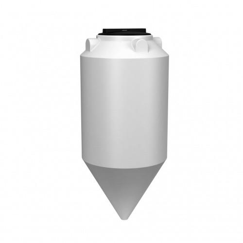 Емкость ФМ 240 с крышкой с дыхательным клапаном белый