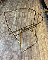 Каркас для кресла, под золото