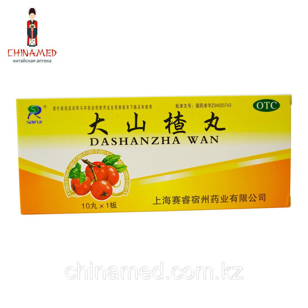 Да ШаньЧжа Ван/Dashanzha Wan 10x9 г. (способствует пищеварению, улучшает аппетит, тонизирует селезенку)