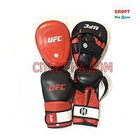 Набор UFC (перчатки+лапы) 14OZ