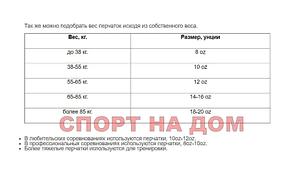 Бойцовские перчатки UFC кожа (14 oz), фото 2
