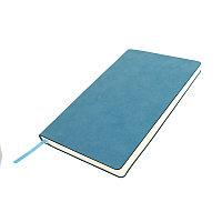 Бизнес-блокнот ALFI, A5, синий, мягкая обложка, в линейку, Синий, -, 21232 24
