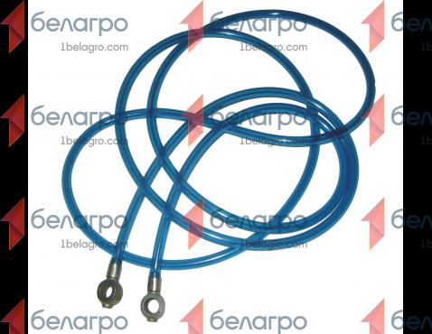 70-1104180 Топливопровод МТЗ обратка с форсунок в металлический бак (Трубка дренажная обратки), БЗТДиА