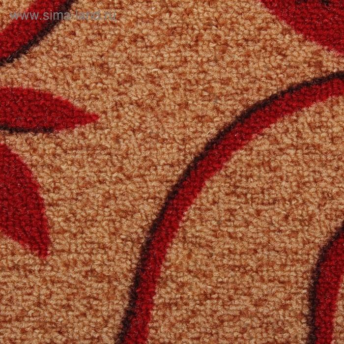 """Коврик с подогревом """"Тепло Крыма"""" КНВЛЗ-50, №2 (I), 50 Вт, 510х330 мм, коричневый/красный - фото 3"""
