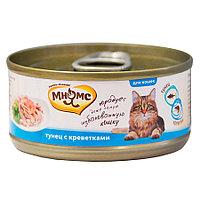 Мнямс консервы Тунец с креветками в нежном желе для кошек - 70 г
