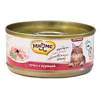 Мнямс консервы Тунец с курицей в нежном желе для кошек - 70 гр