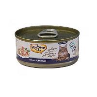 Мнямс консервы Тунец с дорадо в нежном желе для кошек - 70 гр