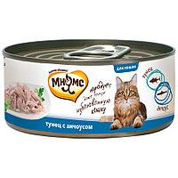 Мнямс консервы Тунец с анчоусами в нежном желе для кошек - 70 гр