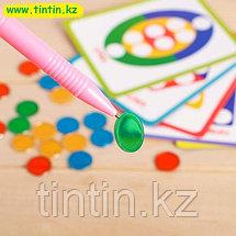 Магнитный набор «Геометрические фигуры», учим формы, цвета, фото 2