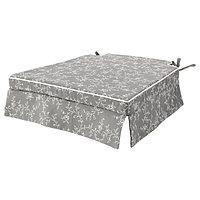 Подушка на стул ЭЛЬСЭБЭТ серый 43x42x4.0 см ИКЕА, IKEA