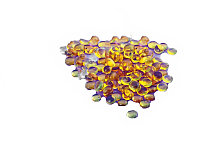 Кератин для наращивания волос в гранулах (желтый) №17701
