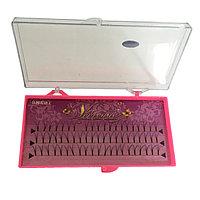 Ресницы Vivenne пучковые норковые на планшете 10 мм толщина 0,15 мм №17084