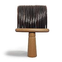 Щетка-сметка #1-20 A, с деревянной ручкой/темно-коричневая №101231(2)