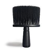 Щетка-сметка Barber #10-50 с ручкой, плоская черная глянцевая №101286(2)