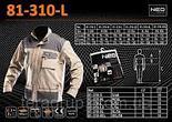 Рабочая блуза 2 в 1 NEO 81-310-M pазмер M/50, фото 2