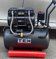 Воздушный бесшумный компрессор ТAC 24L ( 210л/м)