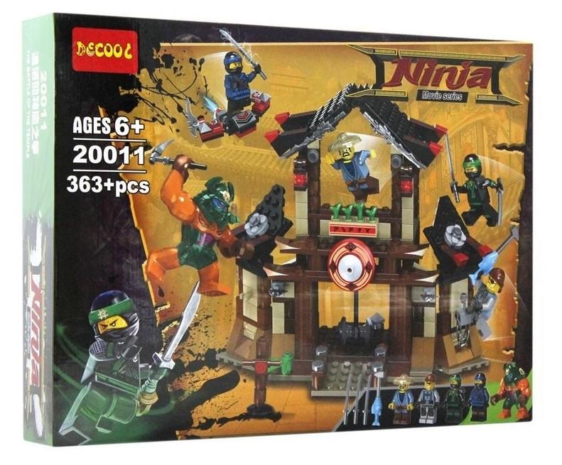 """Decool Ninja 20011 Конструктор """"Битва за храм"""" (Аналог LEGO)"""