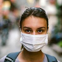 Контроль ношения защитных масок. STOP COVID-19