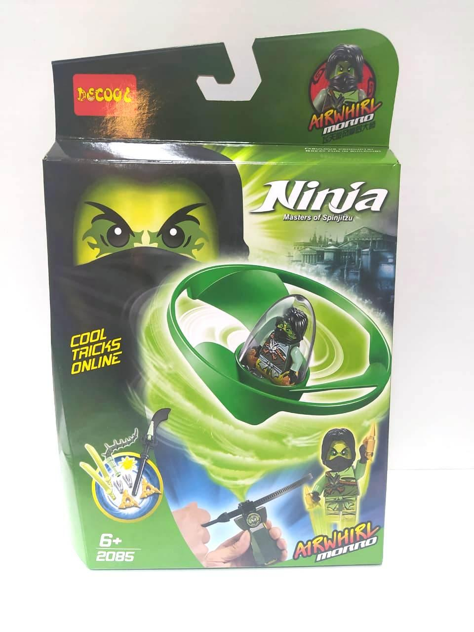 "Decool Ninja 2085 Конструктор ""Кружитсу Моро"" (Аналог LEGO)"