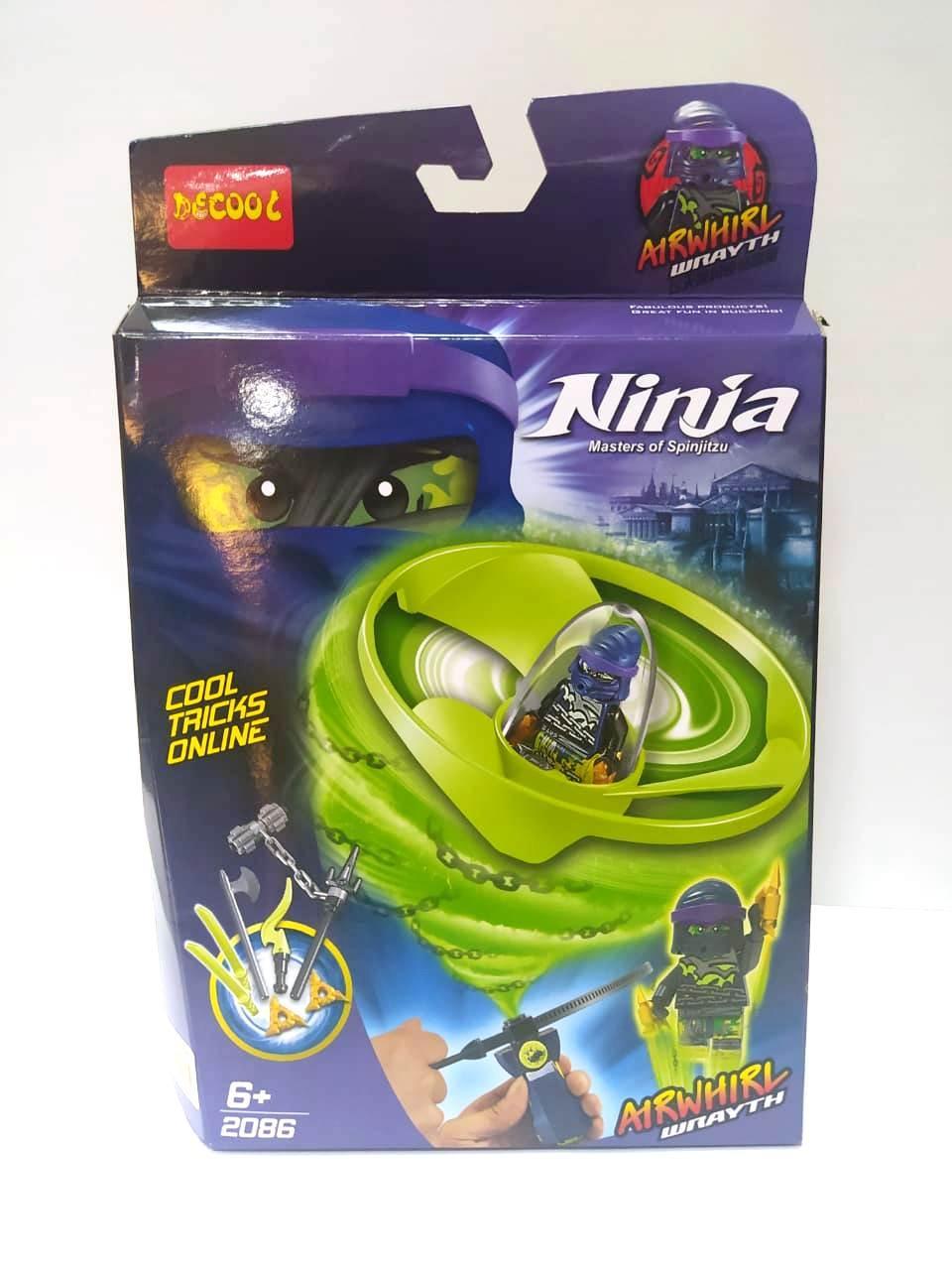 "Decool Ninja 2086 Конструктор ""Кружитсу Гнев"" (Аналог LEGO)"