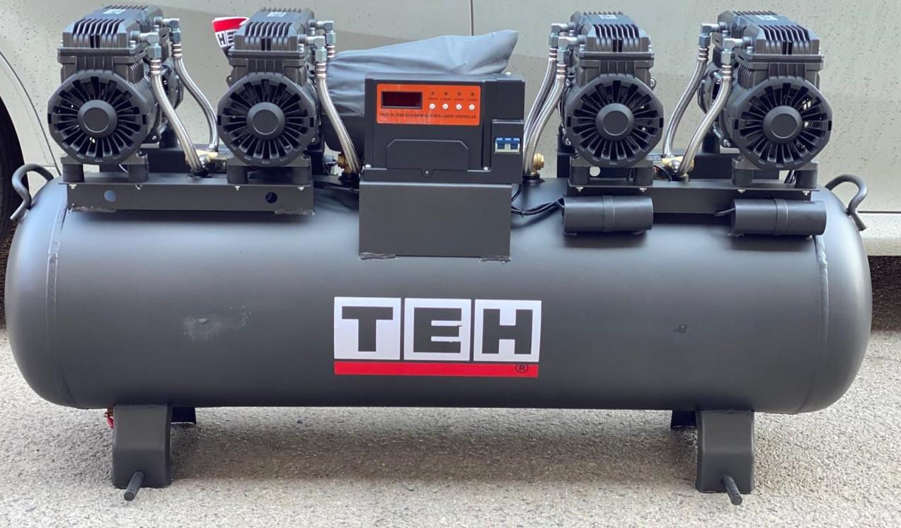 ТЕН 6квт, 130л, 800л/мин, бесшумный, безмасленный, воздушный, компрессор