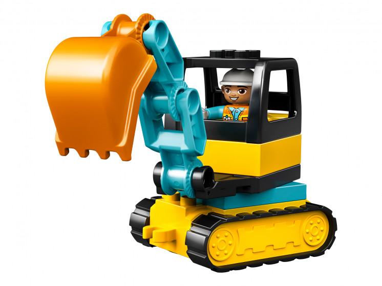 LEGO DUPLO 10931 Грузовик и гусеничный экскаватор, конструктор ЛЕГО - фото 5